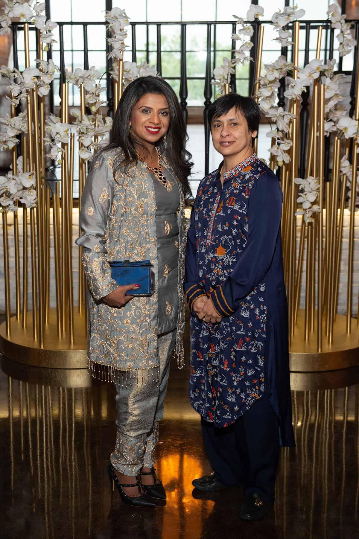 Farida Abjani and Rosemin Premij
