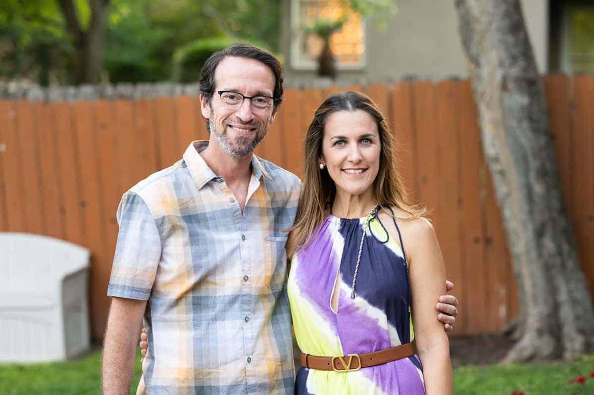 Florencia and Alejandro Treszezamsky