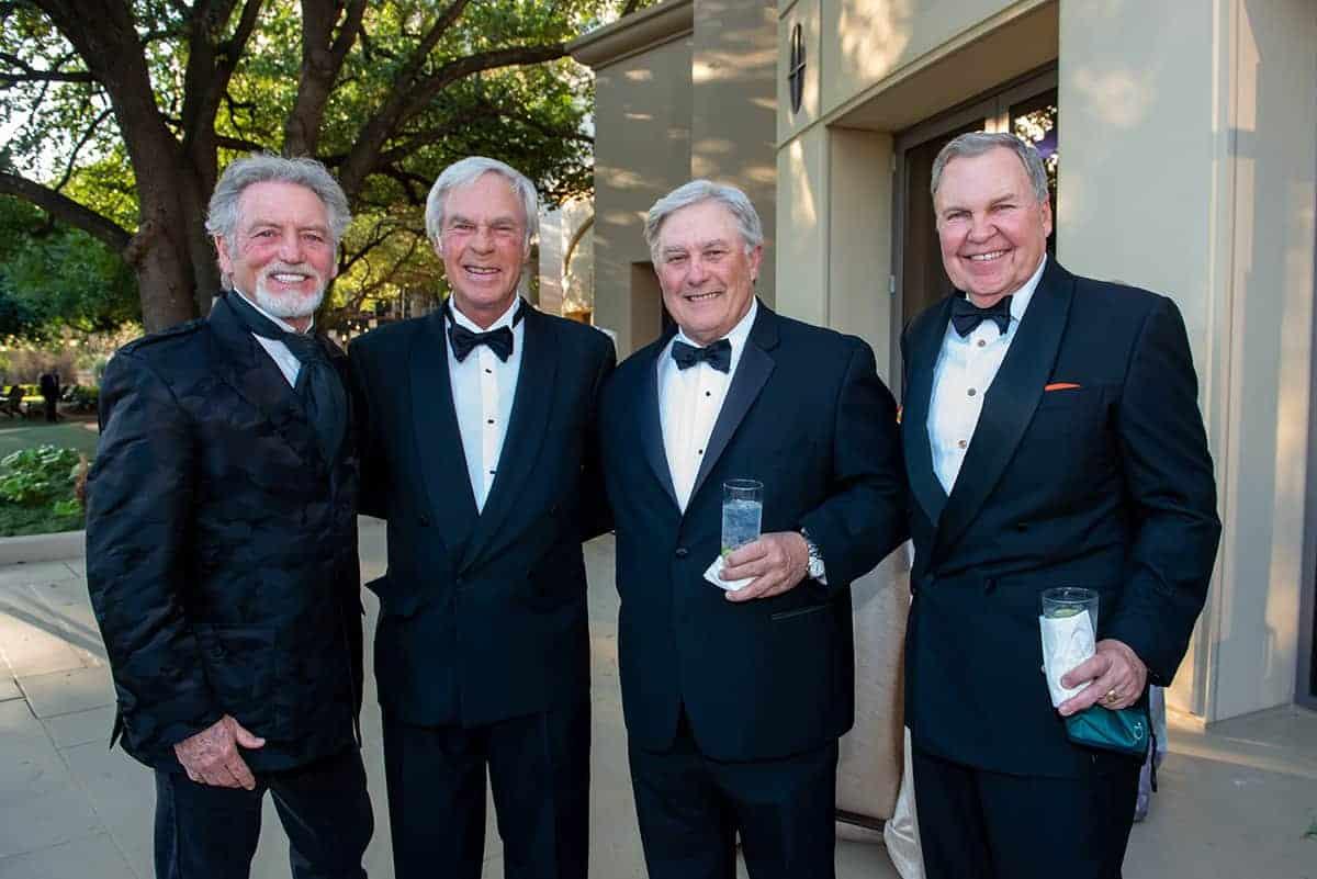 Larry Gatlin, Ben Crenshaw and Scotty Sayers