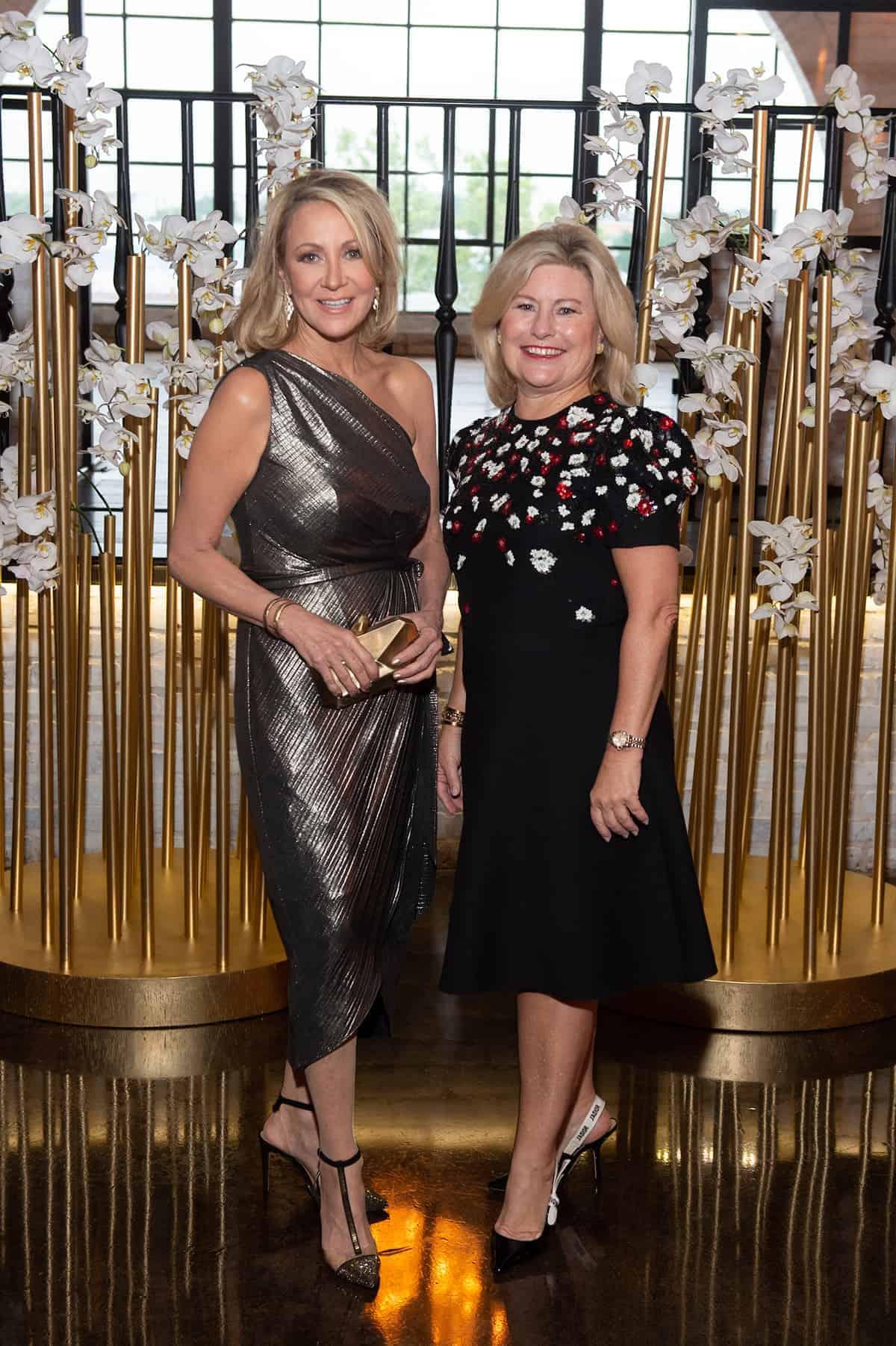 Leslie Siller and Maureen Higdon