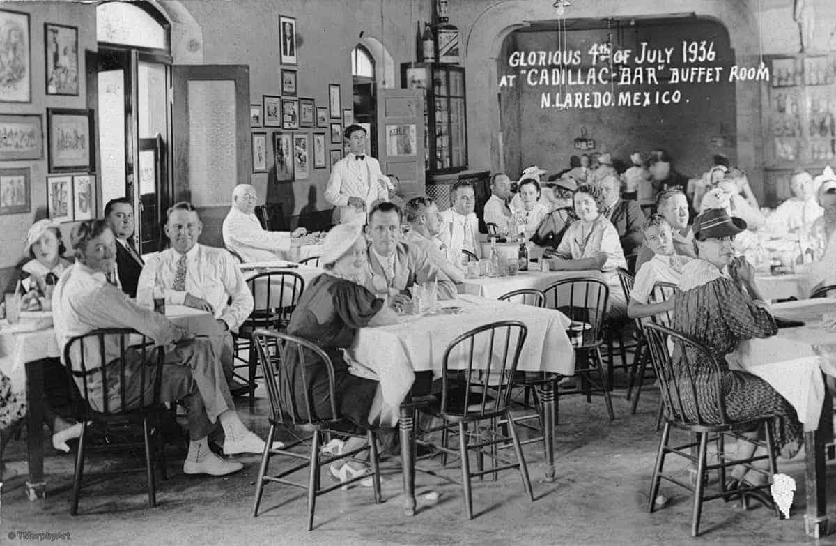 MAIN Cadillac Bar, 1936