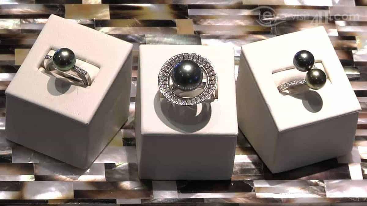 Tahitian pearl jewelry DELETE TOP NOISE