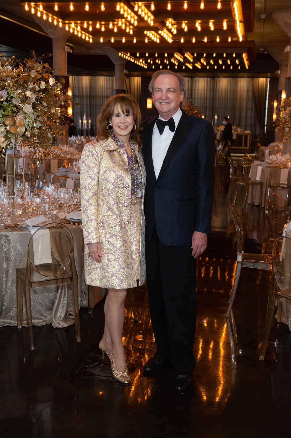 Vicki West and Ralph Burch