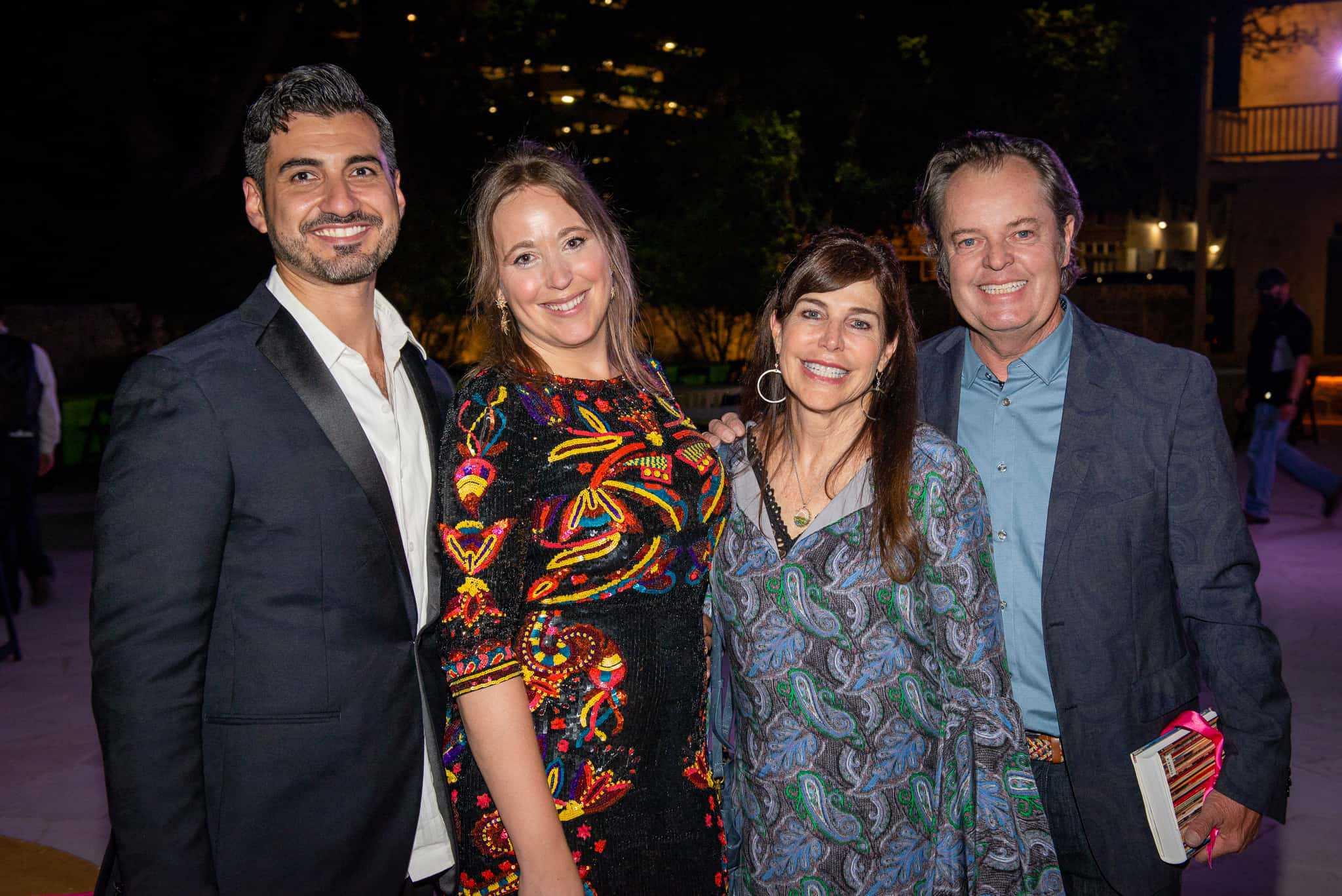 Carlos Solis, Kim Harle, Lynne Dobson and Greg Wooldridge