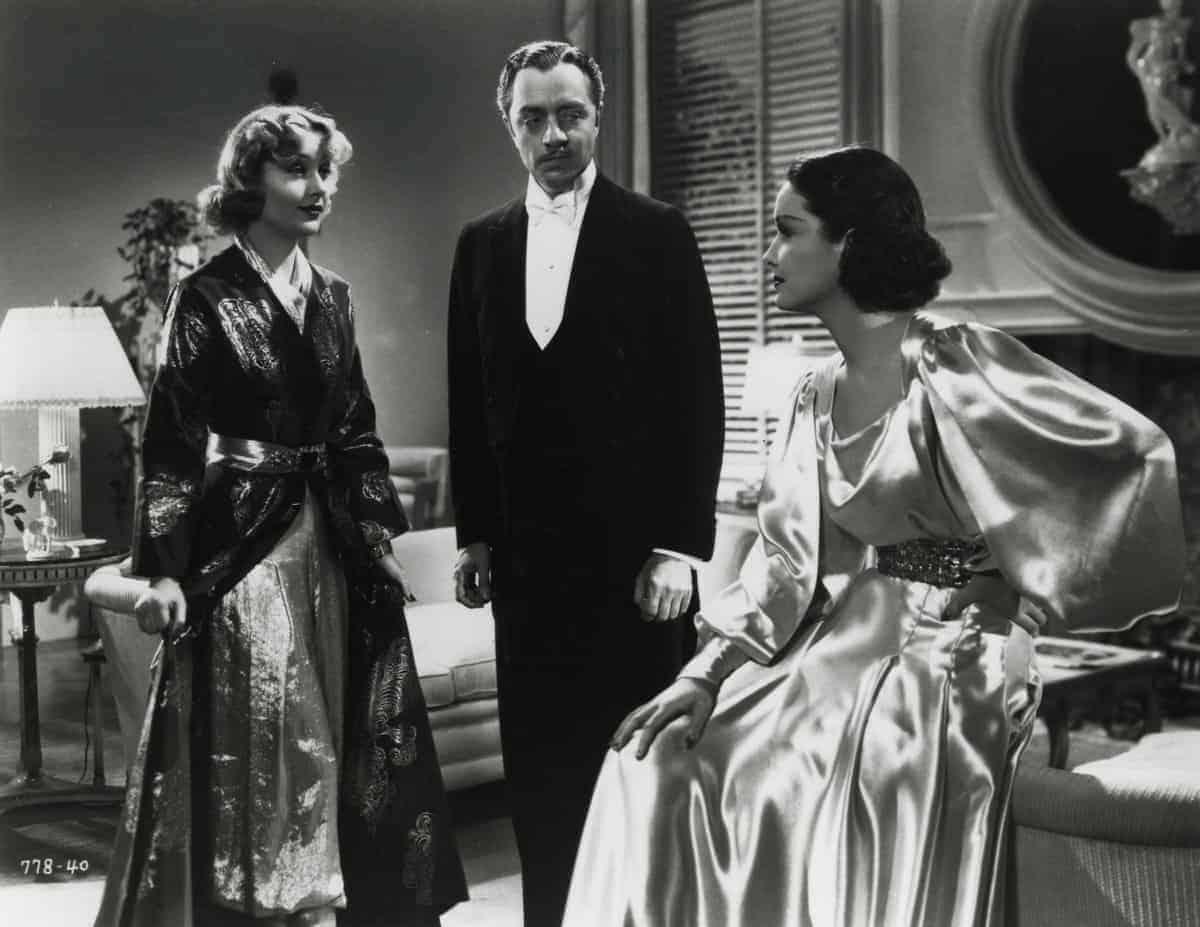 Carole Lombard, William Powell and Gail Patrick, My Man Godfrey, 1936. Paramount publicity still