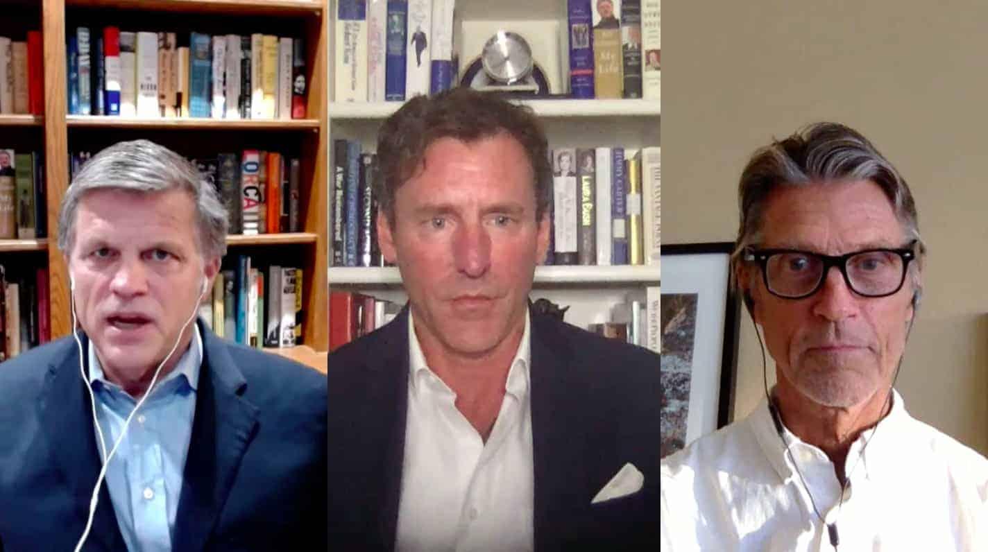Douglas Brinkley, Mark Updegrove and H.W. Brands