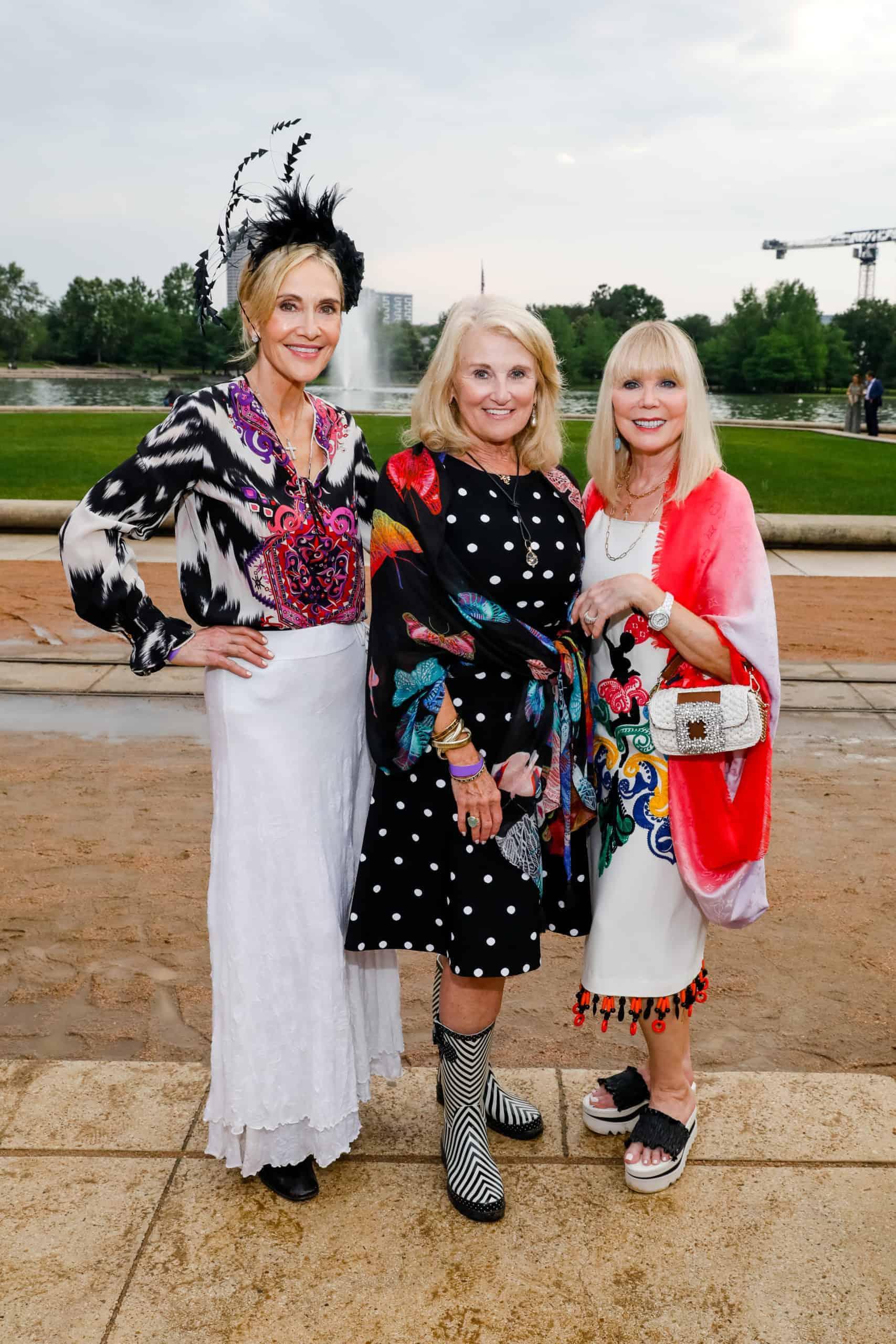 Jana Arnoldy, Denise Monteleone and Brenda Love