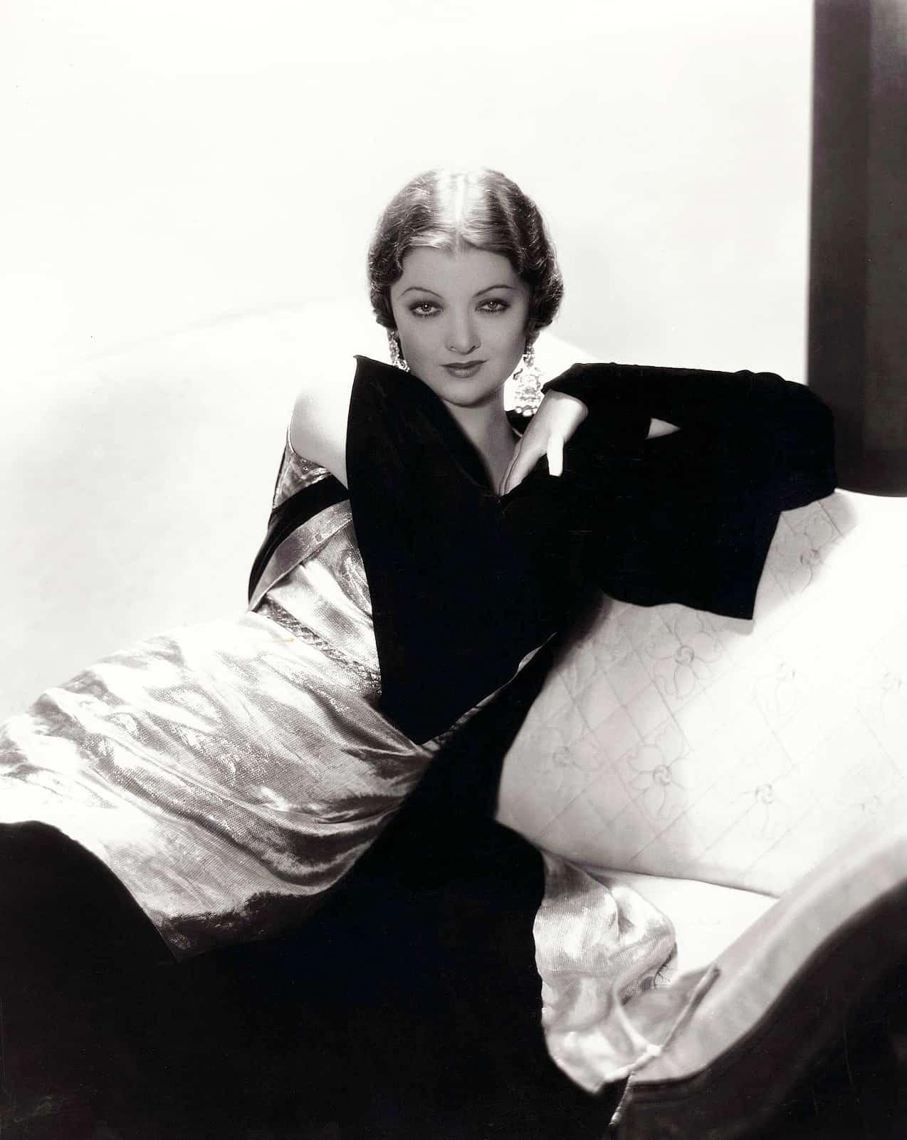 Myrna Loy, 1932. Paramount Pictures publicity still