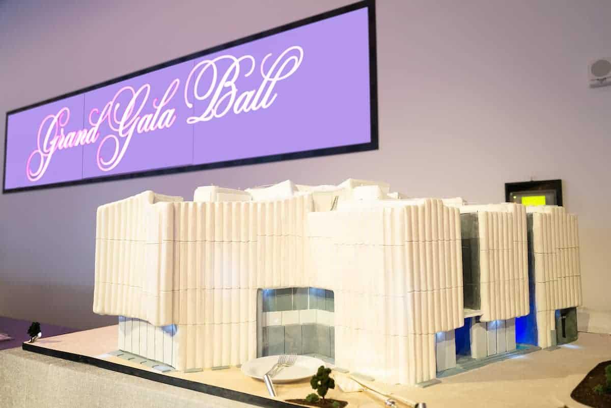 NCN Ambience Grand Gala Ball Atmosphere_ Cake