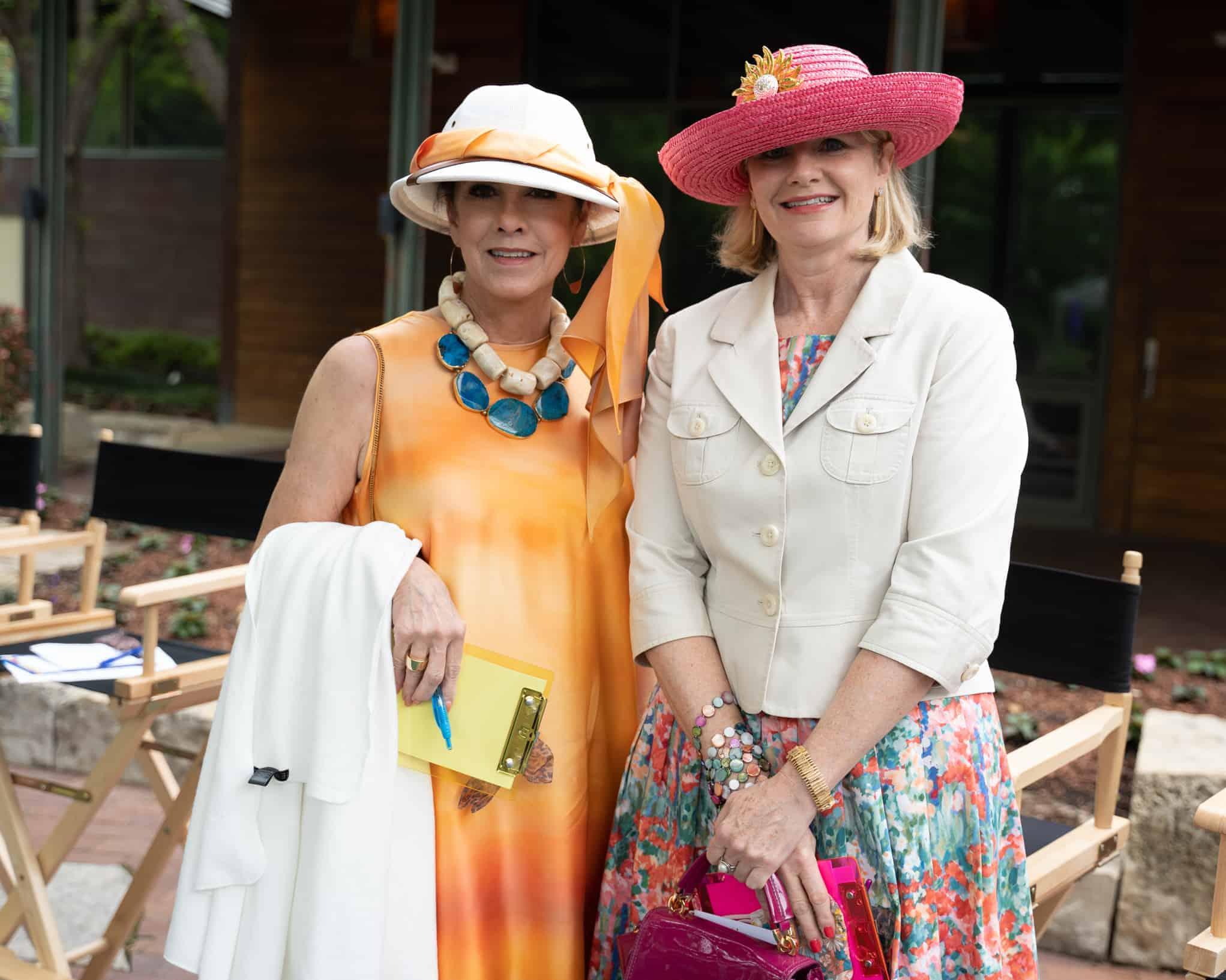 Patti Flowers and Kim Noltemy