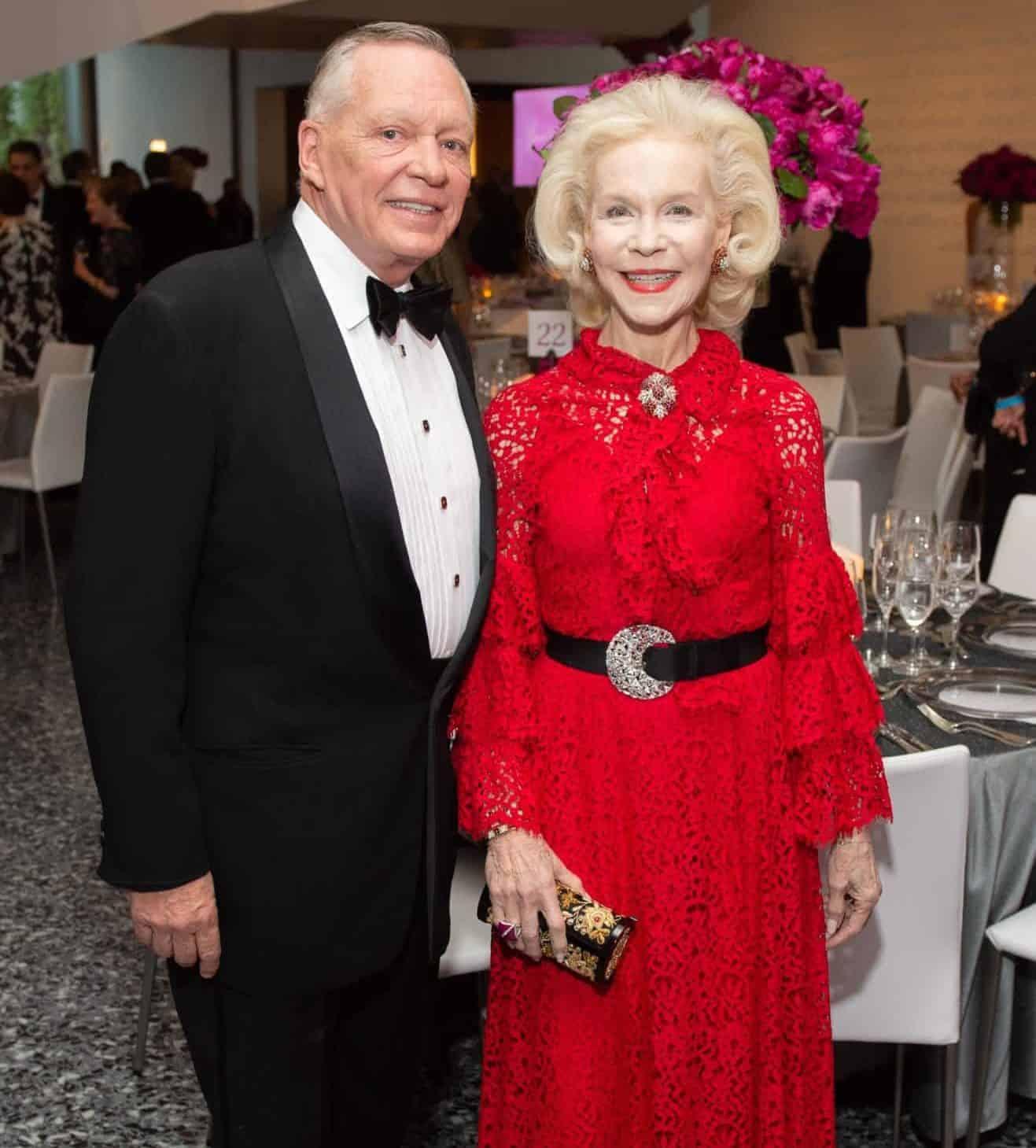 Richard Flowers and Lynn Wyatt