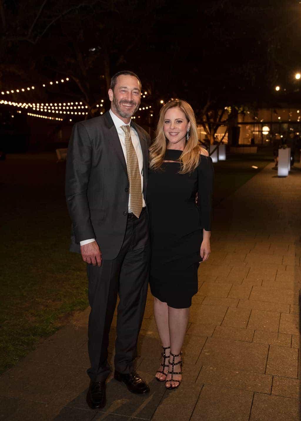Robert Conley and Amy Vanderoef