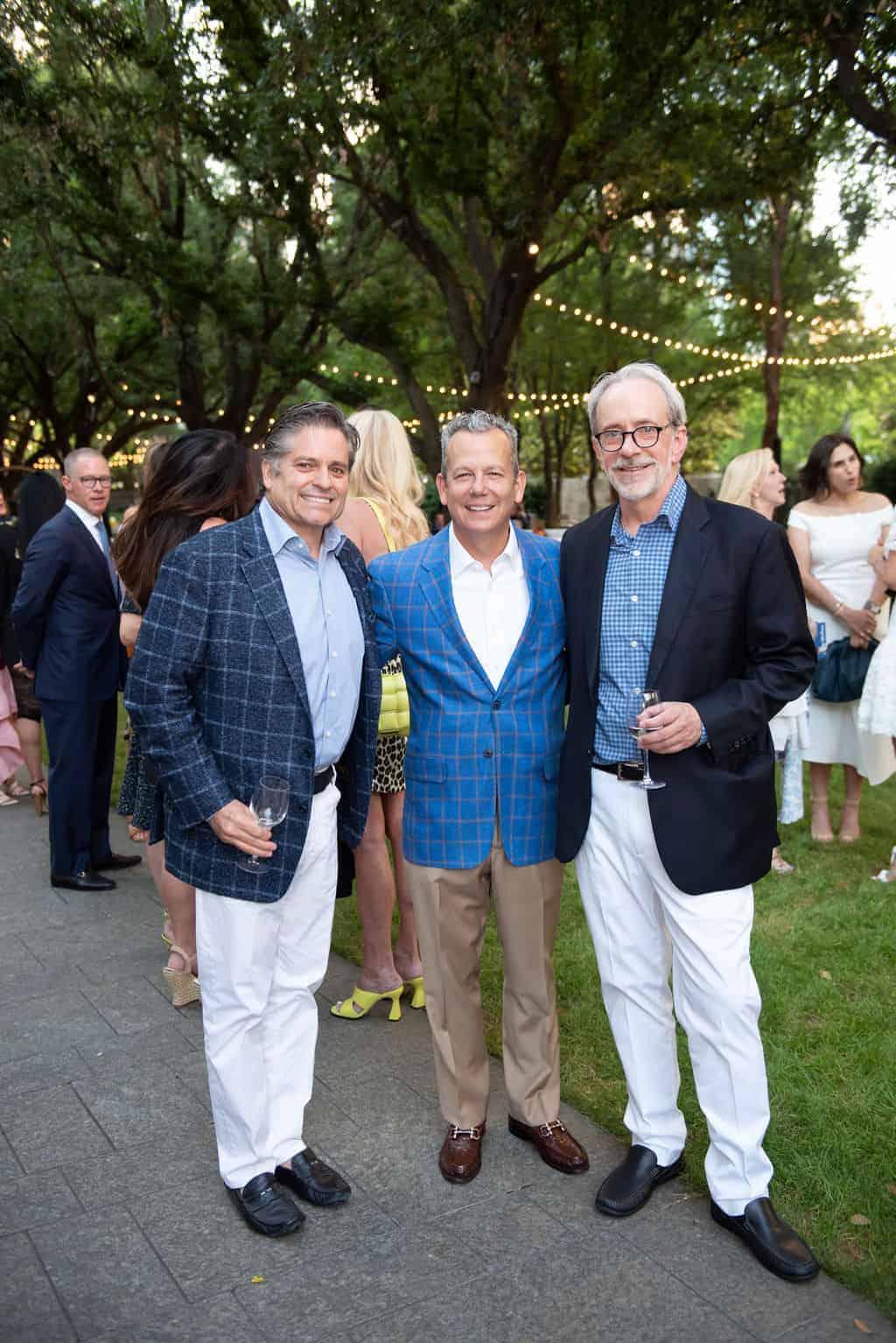 Ron Hoyl, Richard Dix and Mitch Bell
