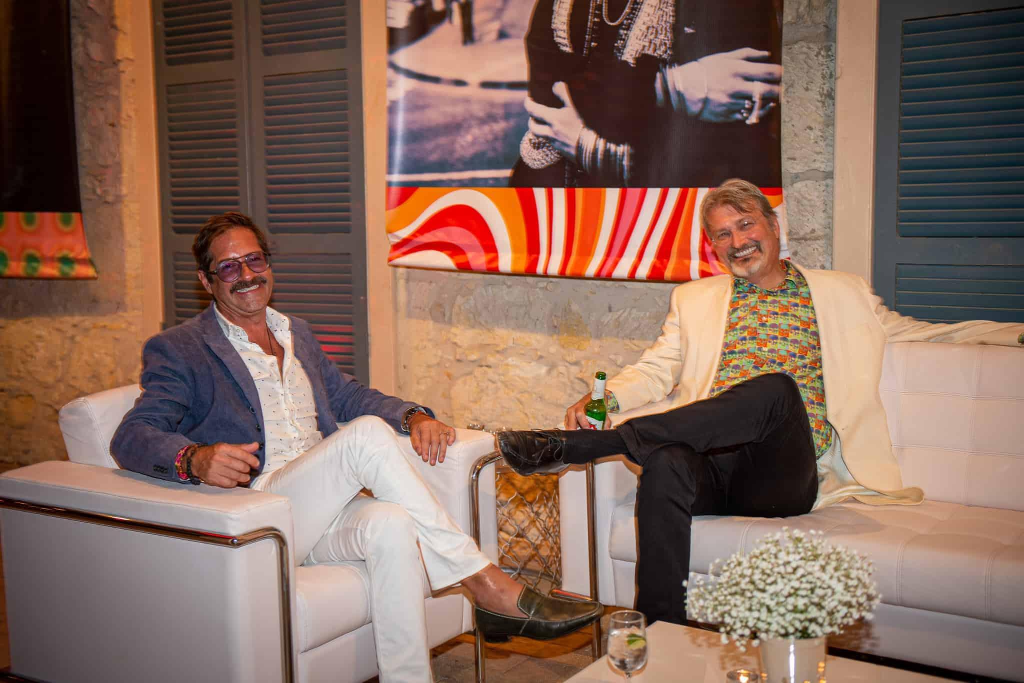 Rudy Choperena and Dr. Joel Dunlop