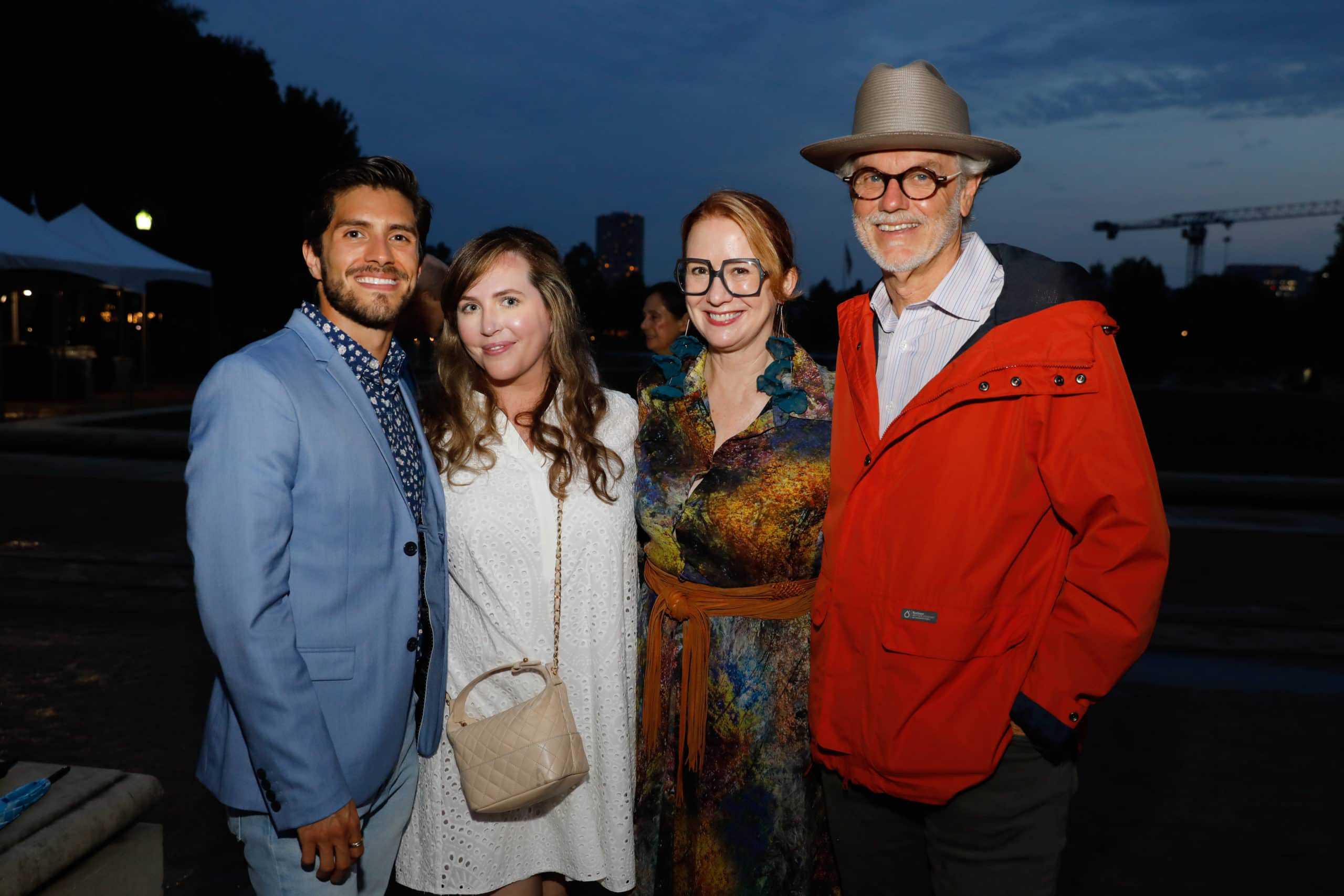 Sal Montes, Mary Patton, Rebekah Johnson and Randy Twaddle