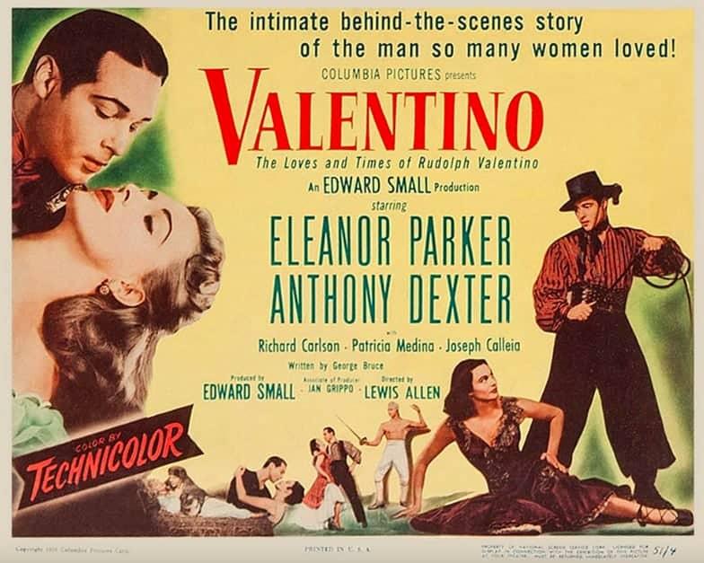 Valentino, 1951. Universal Pictures