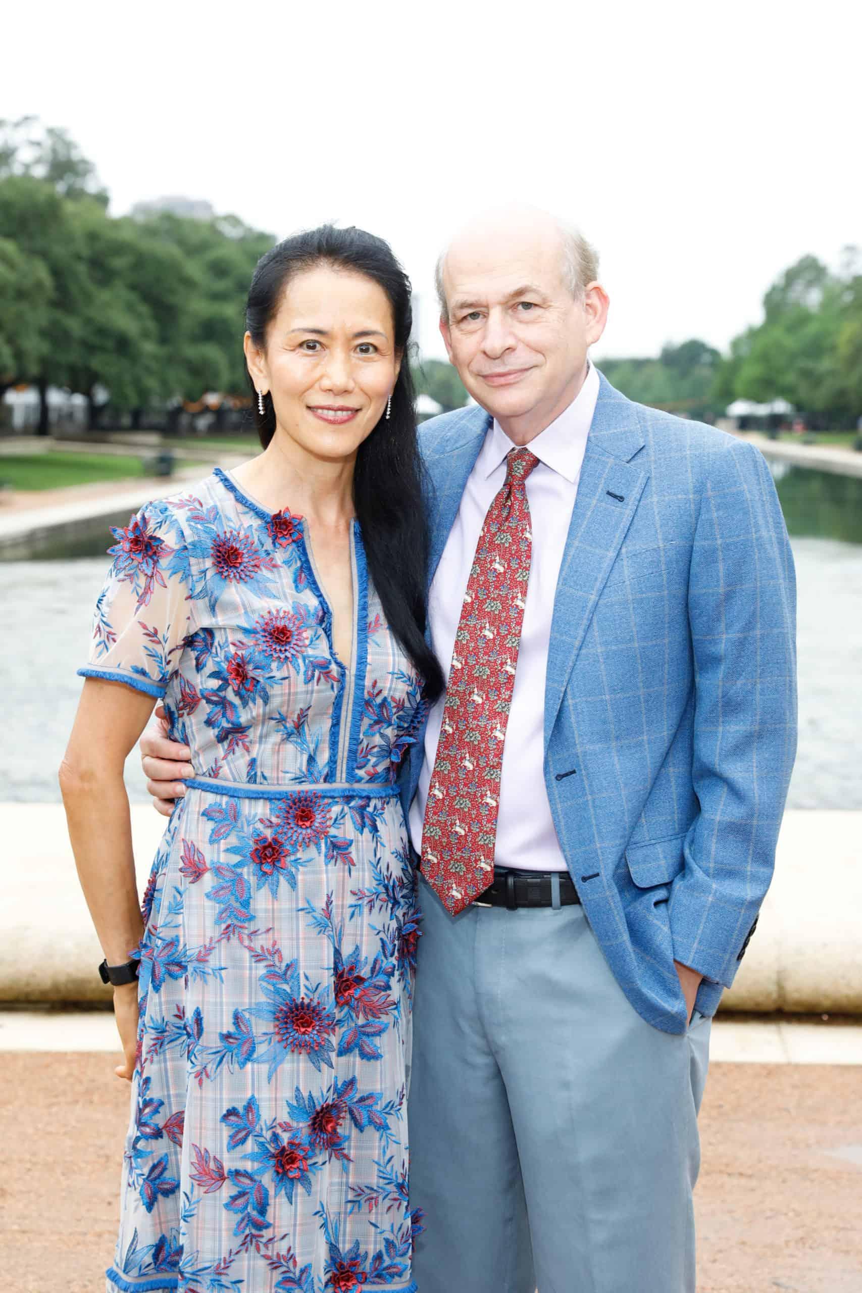 Y. Ping Sun and David Leebron